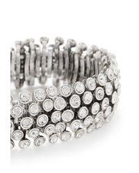 Forever 21 | Metallic Rhinestone Stretch Bracelet | Lyst