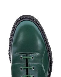 Adieu - Green Type 23 Leather And Calf-Hair Boots for Men - Lyst