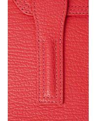 3.1 Phillip Lim - Red Pashli Mini Satchel - Lyst