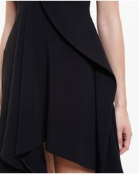 Stella McCartney - Black Asymmetric Bustier Dress - Lyst