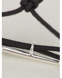 Helena Rohner - Black String Bracelet - Lyst