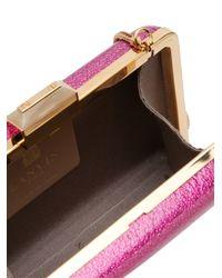 Lanvin | Pink 'Minaudiere' Clutch | Lyst