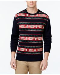 Weatherproof | Blue Vintage Fair Isle-print Sweater for Men | Lyst