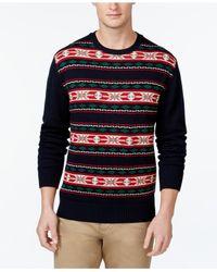 Weatherproof | Blue Vintage Fair Isle-print Sweater for Men | Lyst