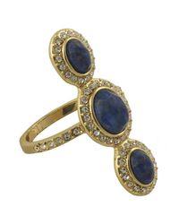 Karen Kane - Blue Aurora Cocktail Ring - Lyst