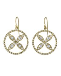 Irene Neuwirth | Metallic Diamond 'sandollar' Earrings | Lyst