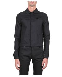 CoSTUME NATIONAL - Blue Cotton Denim Jacket for Men - Lyst