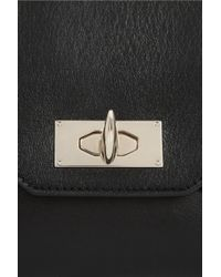 Givenchy | Large Shark Tooth Clutch In Black Leather | Lyst
