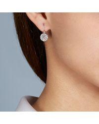 The Icon Earrings Drops - Gray Small Icon Earrings - Lyst