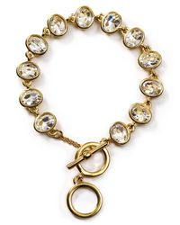 Carolee | Metallic Monaco Moments Link Bracelet | Lyst