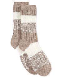 Calvin Klein | Brown Women's Libby Warm Luxury Socks | Lyst