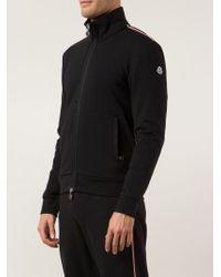 Men's Black Classic Zip-Up Sweatshirt