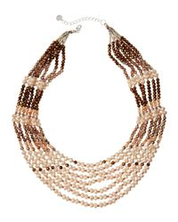 Nakamol - Natural Layered Bead Necklace - Lyst