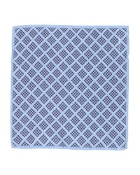 Hardy Amies - Blue Square Scarf for Men - Lyst