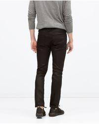Zara | Black Slim Jeans for Men | Lyst