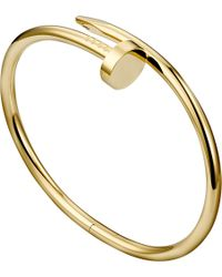 Cartier | Red Juste Un Clou 18ct Yellow-gold Bracelet | Lyst