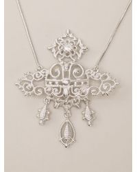 Vivienne Westwood | Metallic Isolde Bas Relief Necklace | Lyst