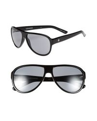 Converse | Black 'tall Tale Teller' 60mm Aviator Sunglasses | Lyst