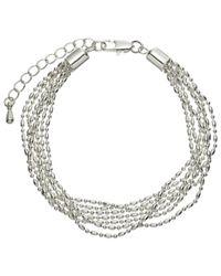 John Lewis | Metallic Layered Fine Chain Bracelet | Lyst