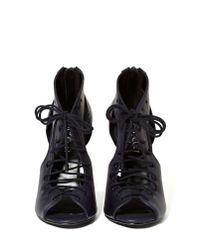 Nasty Gal | Black Shoe Cult Of Corset Heels | Lyst
