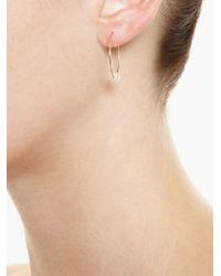 Asherali Knopfer | Metallic Gold Interchangeable 'lou' Hoop Earring | Lyst