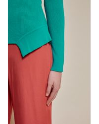 C/meo Collective - Blue The Breakdown Long Sleeve Knit Top - Lyst