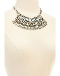 Forever 21 - Metallic Stacked Chain Necklace - Lyst