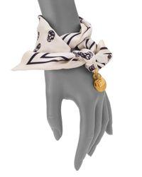 Alexander McQueen - Metallic Baguette Harness Ring - Lyst