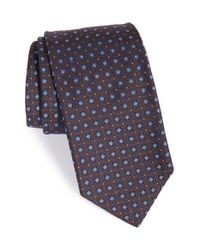 Robert Talbott | Blue Best Of Class Geometric Silk Tie for Men | Lyst