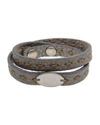 Fendi | Gray Bracelet | Lyst