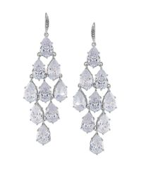 Carolee | Metallic Upper East Side Chandelier Earrings | Lyst