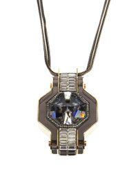 Lanvin - Metallic 'marie Laure' Necklace - Lyst