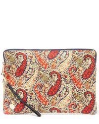Mi-Pac - Multicolor Bourton Print Large Clutch Bag - Lyst