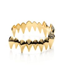 Alexis Bittar | Metallic Liquid Gold Faceted Spear Cuff You Might Also Like | Lyst