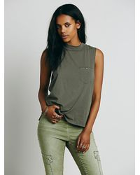 Free People - Green We The Free Womens We The Free Selena Tank - Lyst