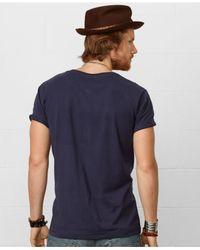 Denim & Supply Ralph Lauren - Blue Flag Crewneck Tee for Men - Lyst