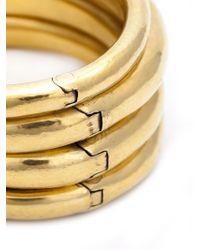 Vaubel - Metallic Multi-hinge Bangle - Lyst