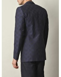 A. Sauvage | Blue Autioneer Single-breasted Jacket for Men | Lyst