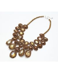 Nakamol | Metallic Juliana Necklace-copper | Lyst