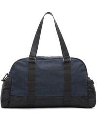 DIESEL - Black And Blue De Yanki Duffle Bag for Men - Lyst