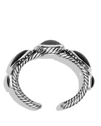 David Yurman | Metallic Grisaille Cuff With Hematine, Crystal, And Diamonds | Lyst