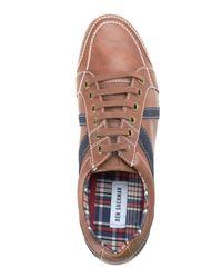 Ben Sherman - Brown & Navy Knox Sneakers for Men - Lyst