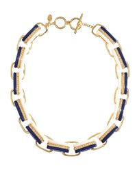 Brooks Brothers | Blue Link Necklace | Lyst