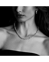 David Yurman | Metallic Crossover Small Hoop Earrings In Gold | Lyst