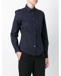Paul by Paul Smith | Blue Classic Shirt | Lyst