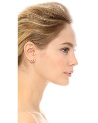Marc By Marc Jacobs   Metallic Screw Stud Earrings Oro   Lyst
