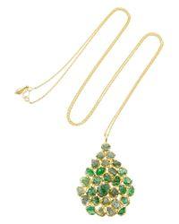 Pippa Small - Metallic Labradorite & Yellow-Gold Necklace - Lyst