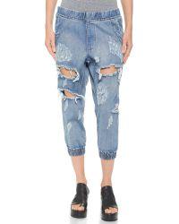 One Teaspoon - Blue Cobain Dundees Jeans - Cobain - Lyst