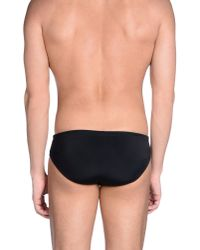 Robinson Les Bains - Black Bikini Bottoms for Men - Lyst