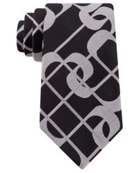 Sean John | Black Abstract Tie for Men | Lyst